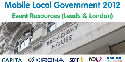Mobile Local Government Events