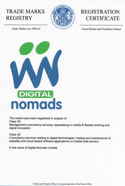 Preview of Digital Nomads - Mark 2 (trademark)